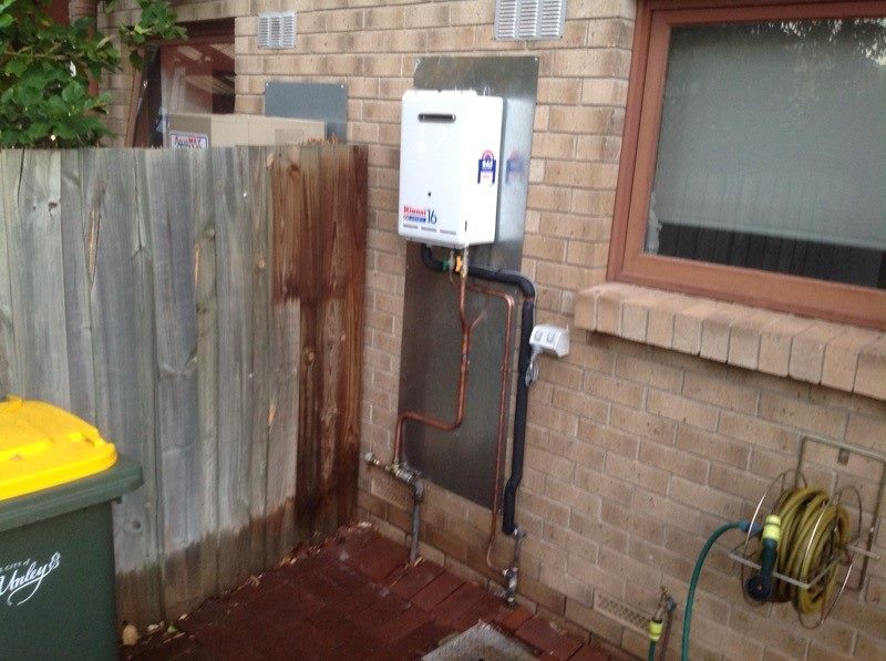 Adelaide house with Rinnai instant gas hot water system installed