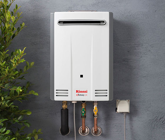 Rinnai instantaneous gas hot water systems